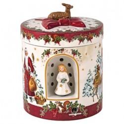 Cutie muzicala/suport lumanare Christmas toy's 'Angel'- 392519