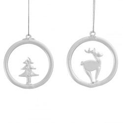 Set 2 decoratiuni pentru brad din sticla, Villeroy&Boch - 406797