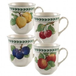 Set 4 cani French Garden modern fruits- 364691