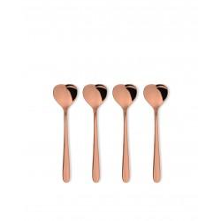 Set 4 lingurite pentru ceai cupper, Alessi- AMMI08/7GP