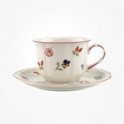 Ceasca capuccino cu farfurie Petite Fleur, Villeroy&Boch-063888/063895