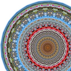 Covor rotund Vancouver 250 cm - Moooi Carpets