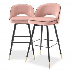 Set 2 scaune Stool Cliff, Eichholtz-114315