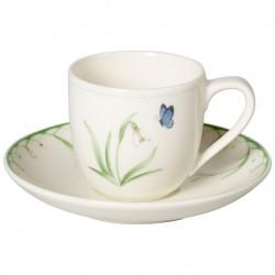 Ceasca espresso cu farfurie, Colourful Spring, Villeroy&Boch-386891/386907