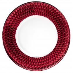 Platou prajituri 32 cm Boston coloured Red Villeroy And Boch 388703