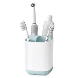 Organizator periute de dinti alb/bleu Easy Store Joseph Joseph 705003