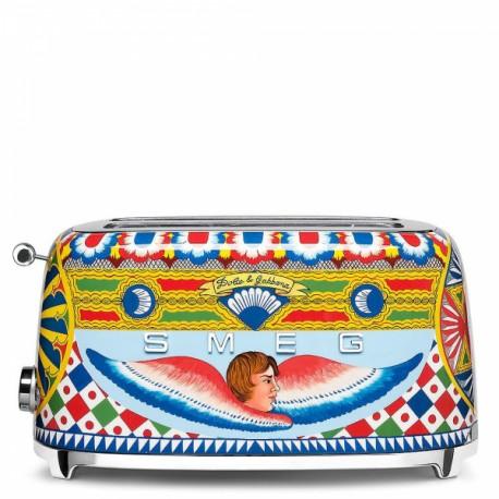Prajitor 4 felii Dolce&Gabbana, Smeg- TSF02DGEU
