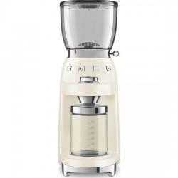 Rasnita cafea crem retro, Smeg - CGF01CREU