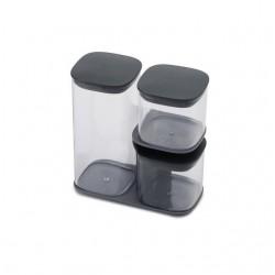 Set 3 recipiente pentru condimente - J81072