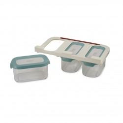 Set 3 cutii depozitare din polipropilena, 900 ml Joseph - J81111