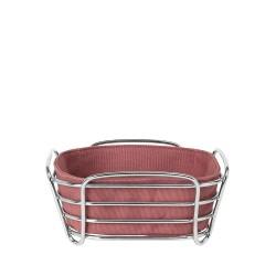 Cos pentru paine Delara cu husa rosie, Blomus- 637537