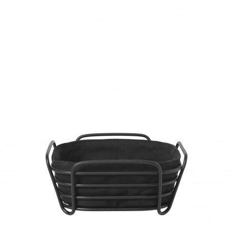Cos pentru paine cu husa neagra, Delara, Blomus - 638718