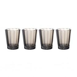 Set 4 pahare pentru apa Opera smoke, Villeroy&Boch - 363670