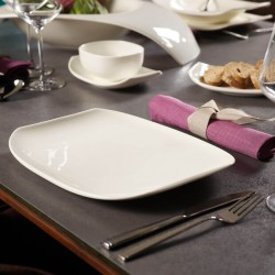 Farfurie intinsa portelan premium, alb, 34x24.5 cm, Villeroy&Boch, 427542