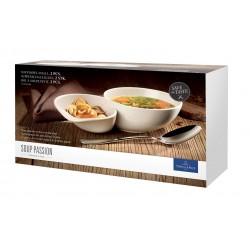Set 2 boluri supa small Soup Passion Villeroy and Boch