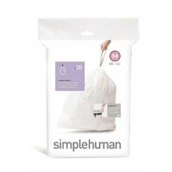 Set 20 saci menajeri COD M 45 litri Simplehuman CW 0279