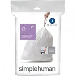 Set 20 buc saci menajeri cod J 30-45 l Simplehuman CW0169