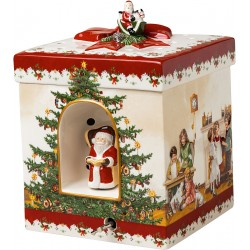 Cutie muzicala patrata Kids, portelan Christmas Toys - 410879