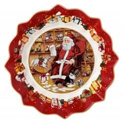 Bol cu picior Toy's Fantasy Santa wish list, 24x24x12 cm - 411234