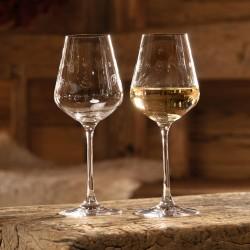Set 2 pahare vin Toy's Delight, sticla cristalizata, 380 ml- 413009