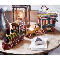 Decoratiune/suport lumanare Christmas Toys Memory, North Pole Express- 310346