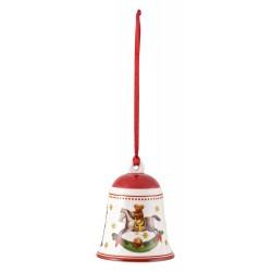 Clopotel brad My Christmas Tree bell toys, red, portelan - 410565