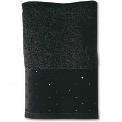 Prosop 80X150 cm swarowski collection black