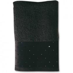 Prosop 80X150 cm swarowski collection black