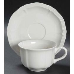 Ceasca cafea cu farfurie Manoir