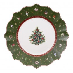 Farfurie aperitiv Toy delight salad plate green
