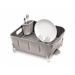 Scurgator plastic pentru vase Compact gri
