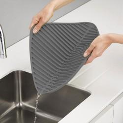 Flume small grey folding draining mat - Joseph