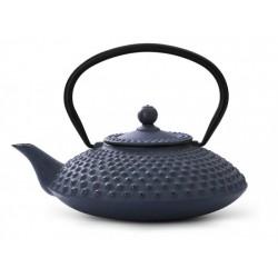 Ceainic albastru din fonta