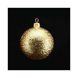 Glob cu sclipici auriu