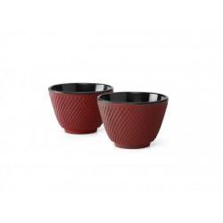Set 2 cesti cafea din fonta-Xilin