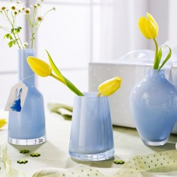 Vaza numa mini- mellow blue