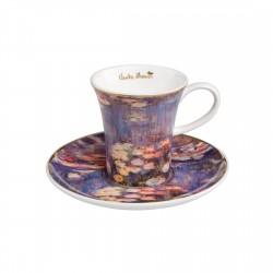 Ceasca espresso cu farfuriuta Water Lilies