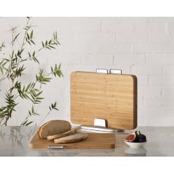 Set 3 tocatoare din bambus, Joseph- J601411