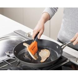Cleste pentru bucatarie -Turner tongs grey/orange