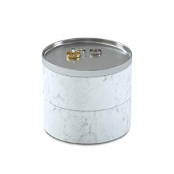 Cutie bijuterii Tesora marble white