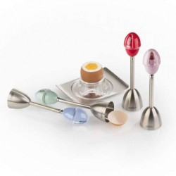 Dispozitiv decojire oua moi cu recipient sare integrat Ovo egg cracker 89408