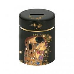 Pusculita din metal, Artis Orbis Gustav Klimt, The Kiss, Goebel