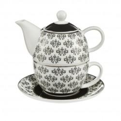 Ceainic pentru o persoana Diamonds floral-Goebel-328121