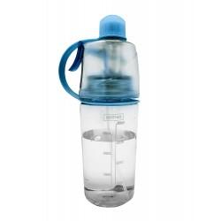 Sticla pentru apa cu gradatie, albastra-FIH286