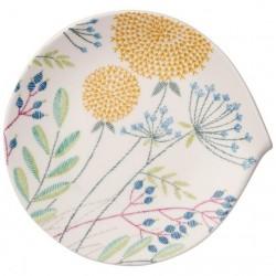 Farfurie intinsa desert/aperitive 31x29 cm, flow couture-358003
