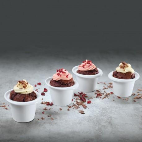 Set 4 cupe pentru prajituri muffin, clever baking-339712